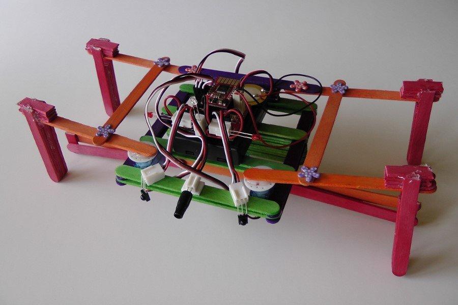 RoboHaus icecream stick robot